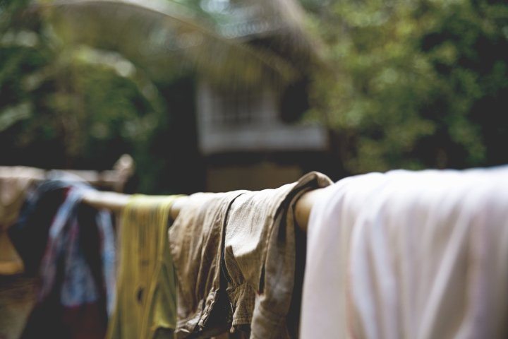 Drying clothes during monsoon