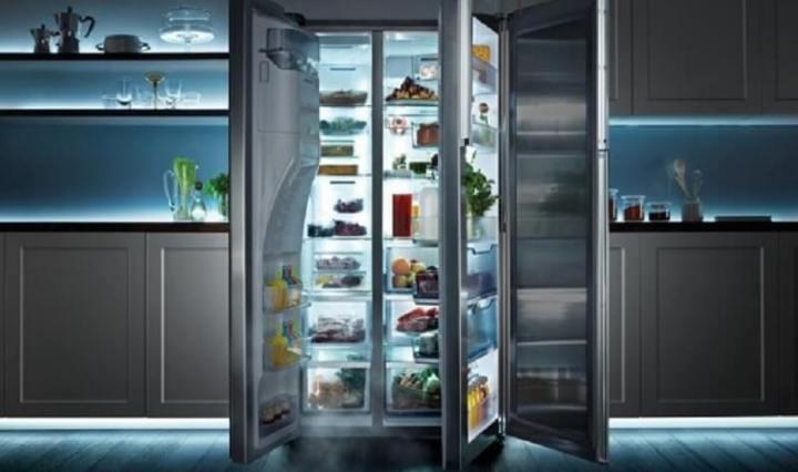 Smart refrigerator storage | Entourage