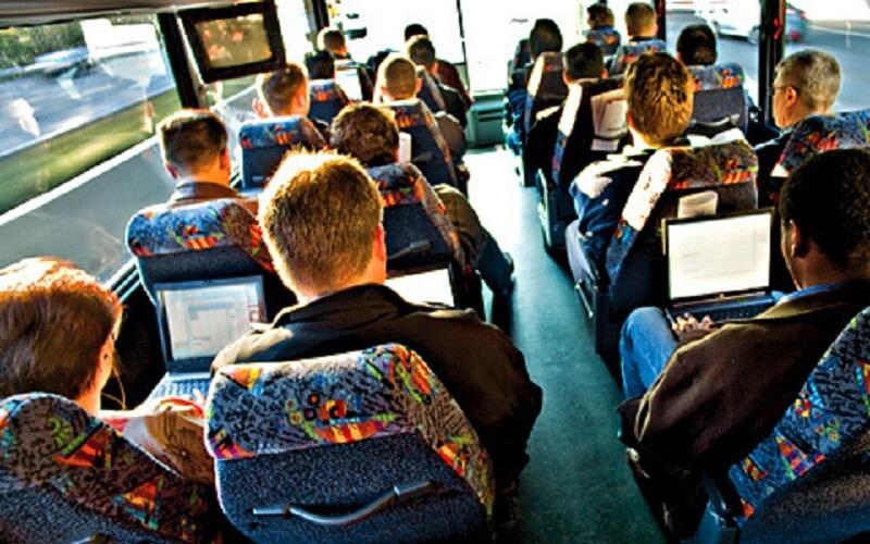 Making use of work commute | Entourage